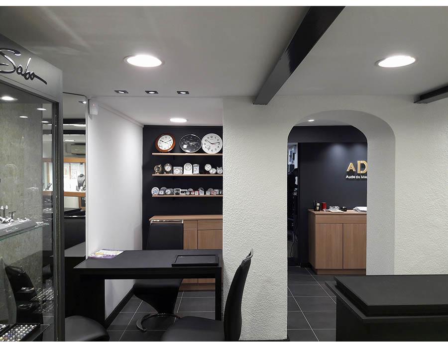 produits de qualité meilleur fournisseur volume grand Rénovation d'une Bijouterie sur le Boulevard à Digne-les ...